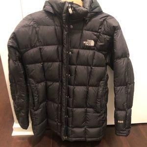 Black North Face Puffer Coat